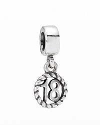 Pandora Design Pandora Dangle Charm Sterling Silver 18Th Birthday Moments Collection