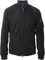 Armani Jeans Fitted Sport Jacket Blue