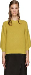 3.1 Phillip Lim Yellow Crewneck Sweater