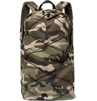 Nonnative Camouflage Print Canvas Backpack Army Green