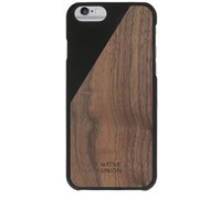 Native Union Wood Edition Clic Iphone 6 Case Black