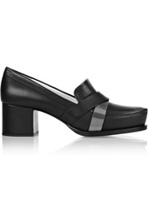 Jil Sander Leather Pumps Black
