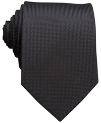 Perry Ellis Oxford Solid Tie Black