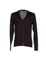 John Smedley Knitwear Cardigans Men Dark Brown