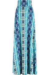 Tart Collections Ariel Printed Stretch Modal Jersey Maxi Skirt