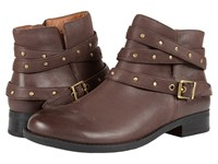 Vionic Country Lona Ankle Boot Java Women's Pull On Boots Brown