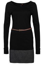 Ragwear Soko Jersey Dress Black