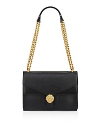 Anne Klein Diana Chain Shoulder Bag Black Black Gold