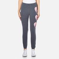 Wildfox Couture Women's Faded Love Bottoms Knox Sweatpants After Midnight Blue