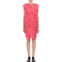Junya Watanabe Comme Des Garcons Translucent Petal Shift Dress Pink