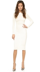 5Th And Mercer Long Sleeve Dress White