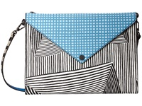 Marc By Marc Jacobs Metropoli Optical Stripe Multi Envelope Tablet Crossbody
