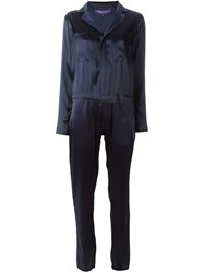 Ralph Lauren Zipped Jumpsuit Blue