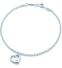 Tiffany And Co. Elsa Peretti Open Heart Bracelet In Sterling Silver