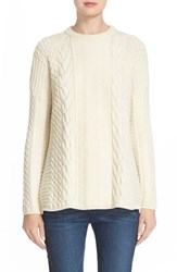 Belstaff Women's 'Katriona' Cable Knit Wool And Cashmere Sweater