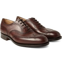 Church's Chetwynd Leather Oxford Brogues Brown