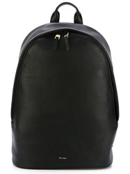 Paul Smith 'City Webbing' Multi Compartment Backpack Black