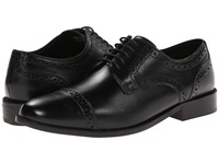 Nunn Bush Norcross Black Men's Lace Up Cap Toe Shoes