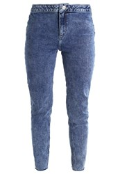 New Look Petite Vinnie Slim Fit Jeans Mid Blue Blue Denim