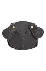 Women's Opening Ceremony 'Dog' Saffiano Leather Coin Purse