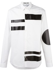 Mcq By Alexander Mcqueen Bi Colour Shirt White