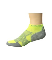 Thorlos Experia Energy No Show Single Pair Electric Yellow No Show Socks Shoes