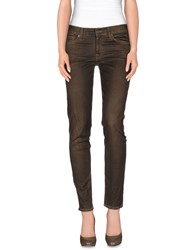 7 For All Mankind Trousers Casual Trousers Women Khaki
