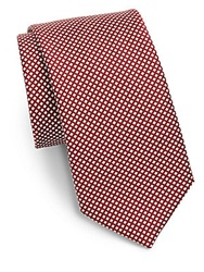 Saks Fifth Avenue Silk Square Neat Tie