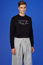 Martine Rose Be Cropped Sweaters Black