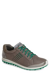 Ecco Men's 'Biom Hybrid 2' Golf Shoe Warm Grey Green