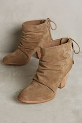 Anthropologie Splendid Rae Ruched Booties Cocoa