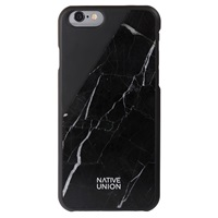 Native Union Iphone 6 Marble Case Black