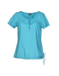 Street One Blouses Turquoise