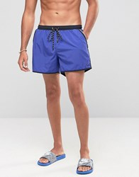Boss By Hugo Shellfish Swim Shorts Blue