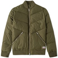 Penfield Vanleer Down Bomber Jacket Green