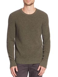 Rag And Bone Kaden Cashmere Sweater Army Green