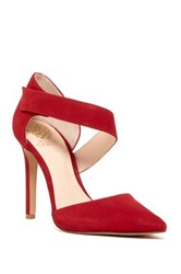 Vince Camuto Carlotte Pointy Toe Pump Red