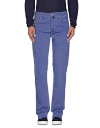 Pt05 Denim Denim Trousers Men Pastel Blue