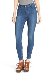 Women's Free People 'Beverley' High Rise Skinny Jeans