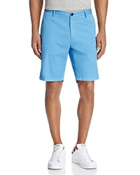 Boss Rice Stretch Cotton Shorts Light Pastel Blue