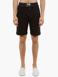 Marc Jacobs Black Cotton Jersey Shorts