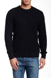 1901 Waffle Knit Pullover Black