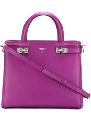 Serapian Small 'Melina ' Tote Pink And Purple