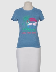 Joe Rivetto Short Sleeve T Shirts Pastel Blue