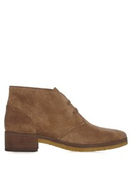 See By Chloe Jona Suede Ankle Boots Light Tan