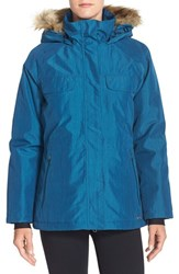 Women's Merrell 'Bandol' Water Resistant Parka With Faux Fur Trim
