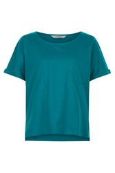 People Tree Emily Tee In Green