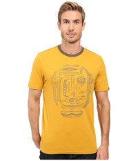Prana Canoe'n Ringer Marigold Men's Clothing Yellow