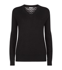 See By Chloe Lace Back Sweater Female Black