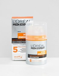 L'oreal Paris Men Expert Hydra Energetic Anti Fatigue Moisturiser 50Ml Multi
